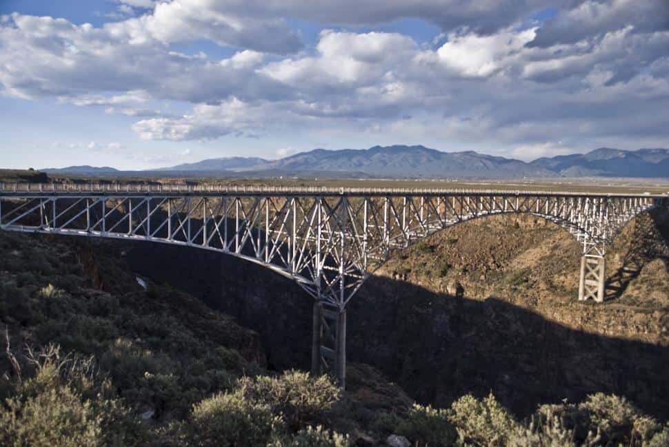 Rio Grande Bridge by Bungee Expeditions in Taos, New Mexico