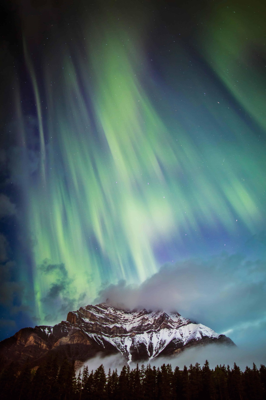 Banff S Aurora Chasers Explore Magazine