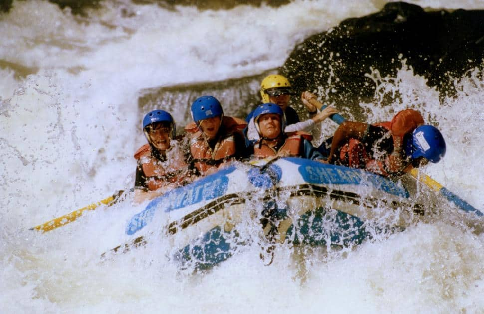 White-Water Rafting on the Zambezi River in Zambia