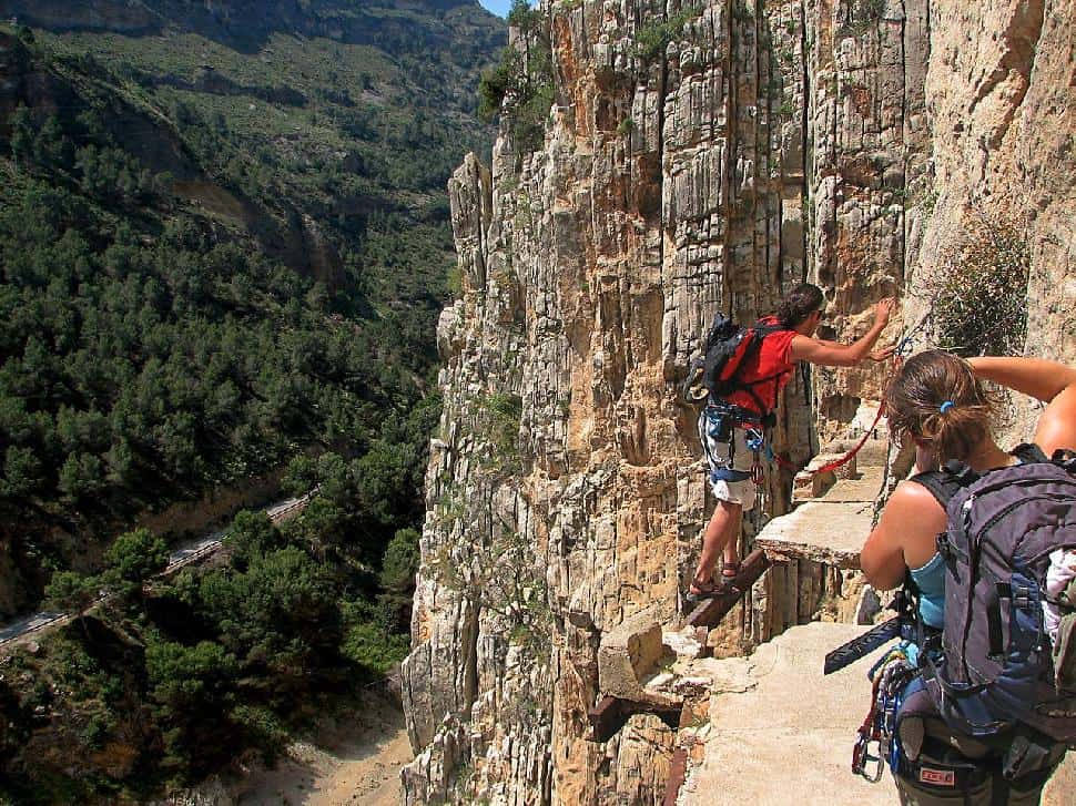 Hiking the El Caminito del Rey in Spain