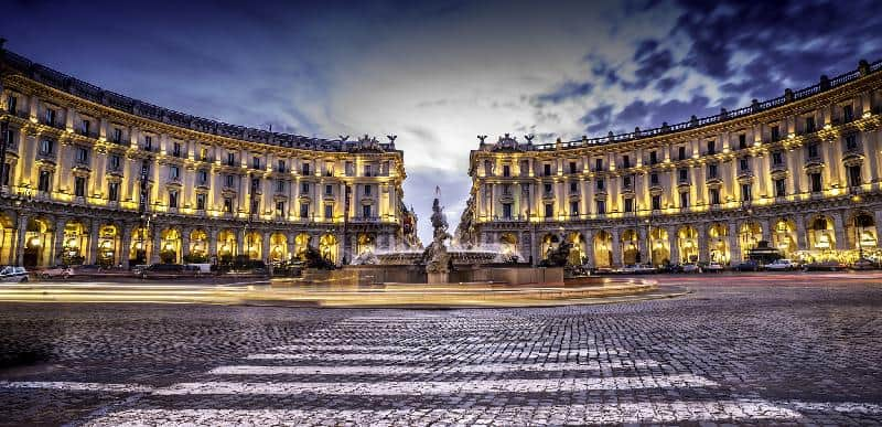Republic Square, Rome
