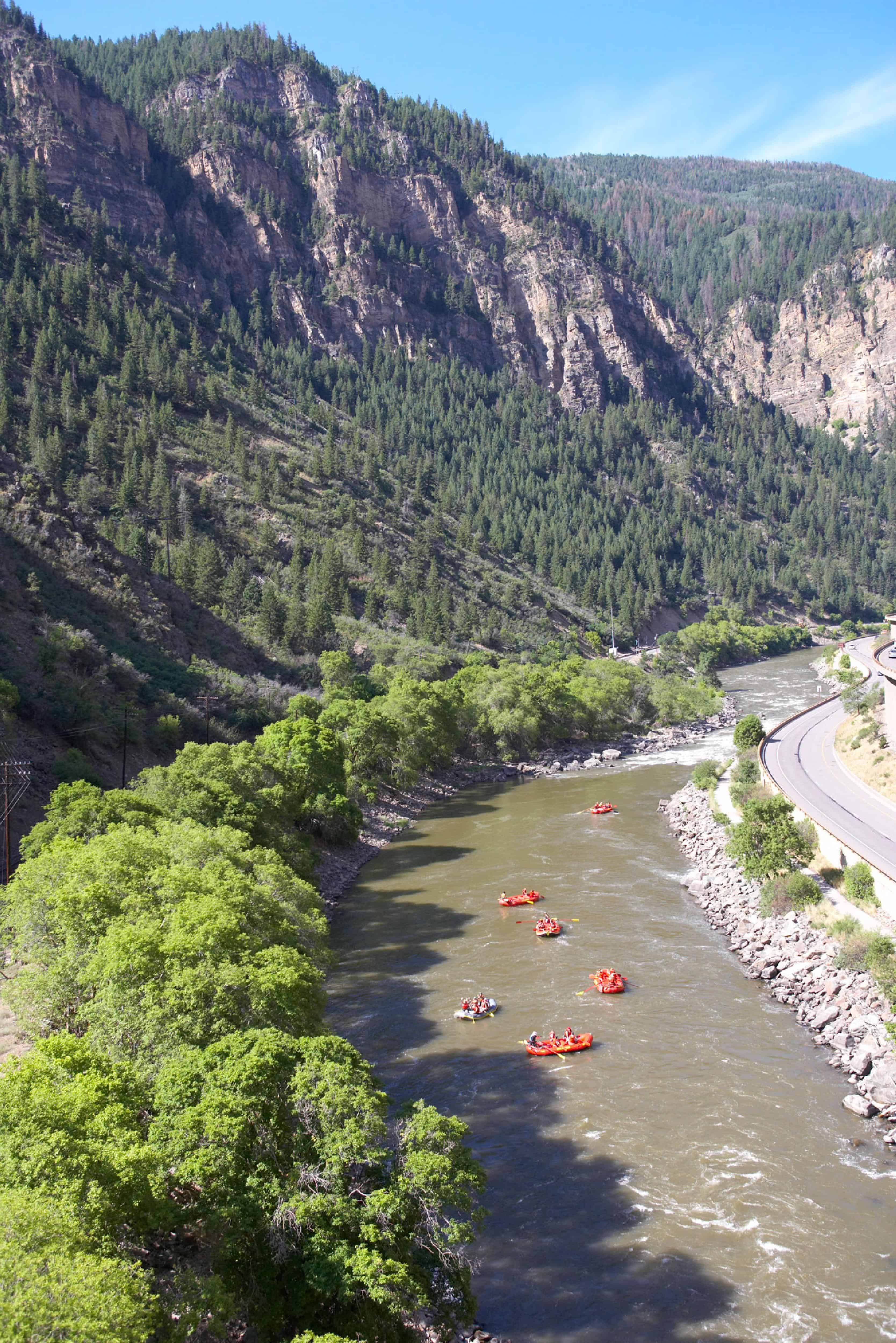 Glenwood Canyon - Rafting