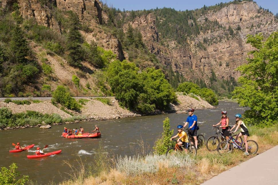 Glenwood Springs Rafting and Biking