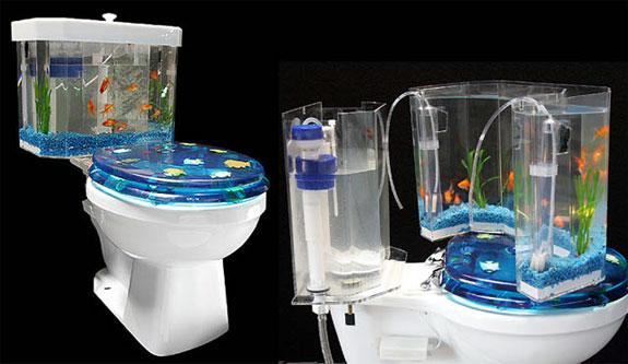 The Aquarium Toilet