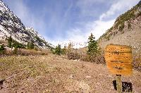 maroon bells - Sign