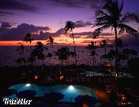 Wailea Beach Marriott Resort at sunset