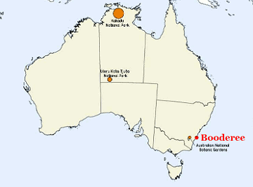 Booderee National Park Location