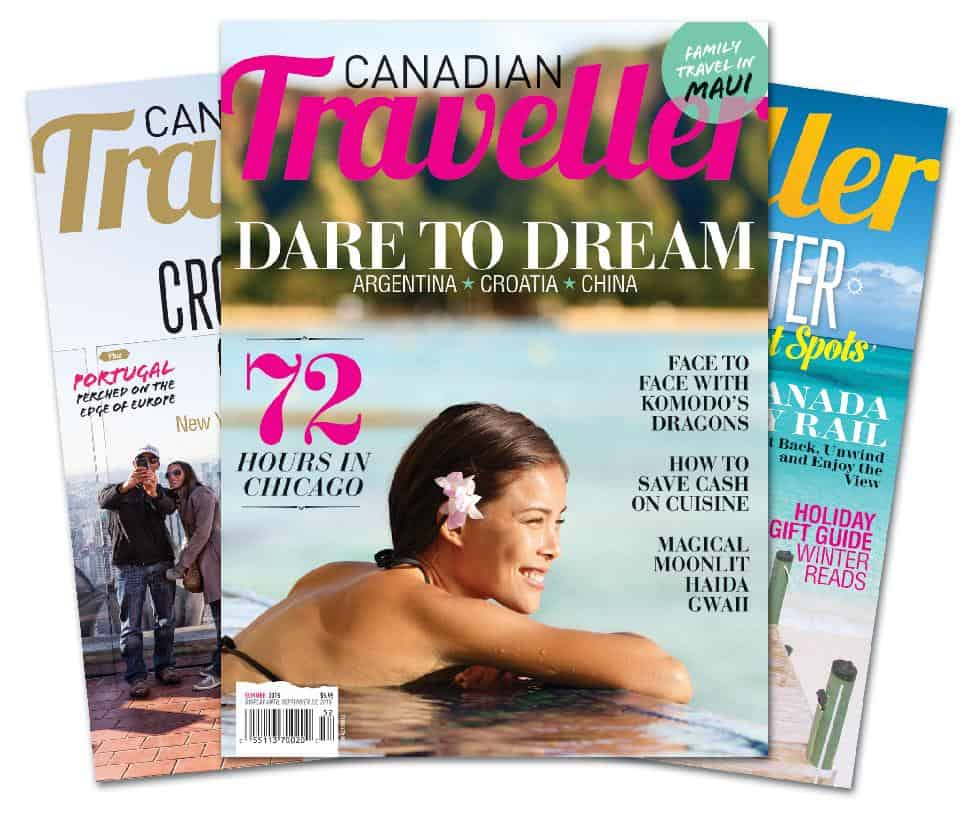 Canadian Traveller Cover Fan