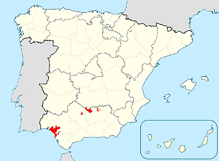 Iberian Lynx Distribution in Spain (End of 2011)