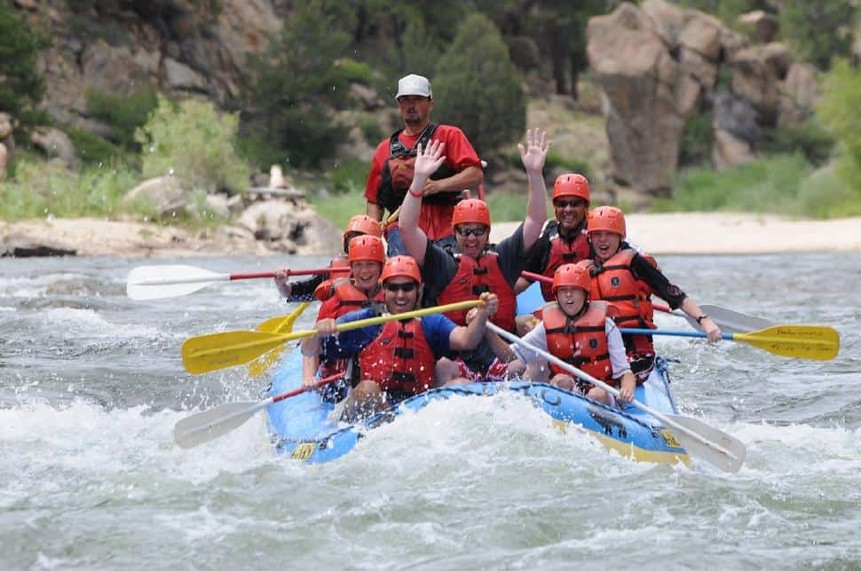 river rafting colorado
