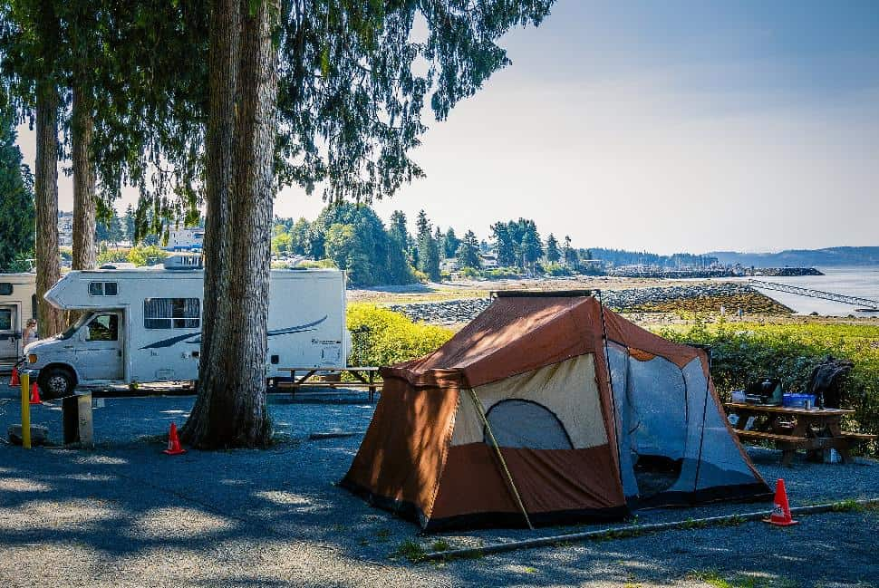 Full hookup camping in british columbia