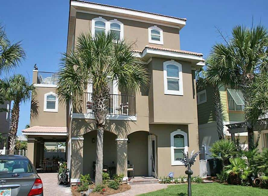 Destin Rental bella verde house florida