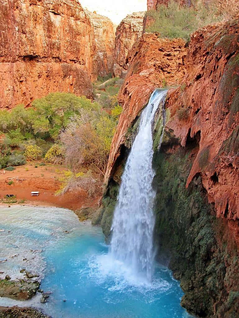 Hiking To The Grand Canyon 39 S Garden Of Eden Havasupai Arizona Explore The Usa