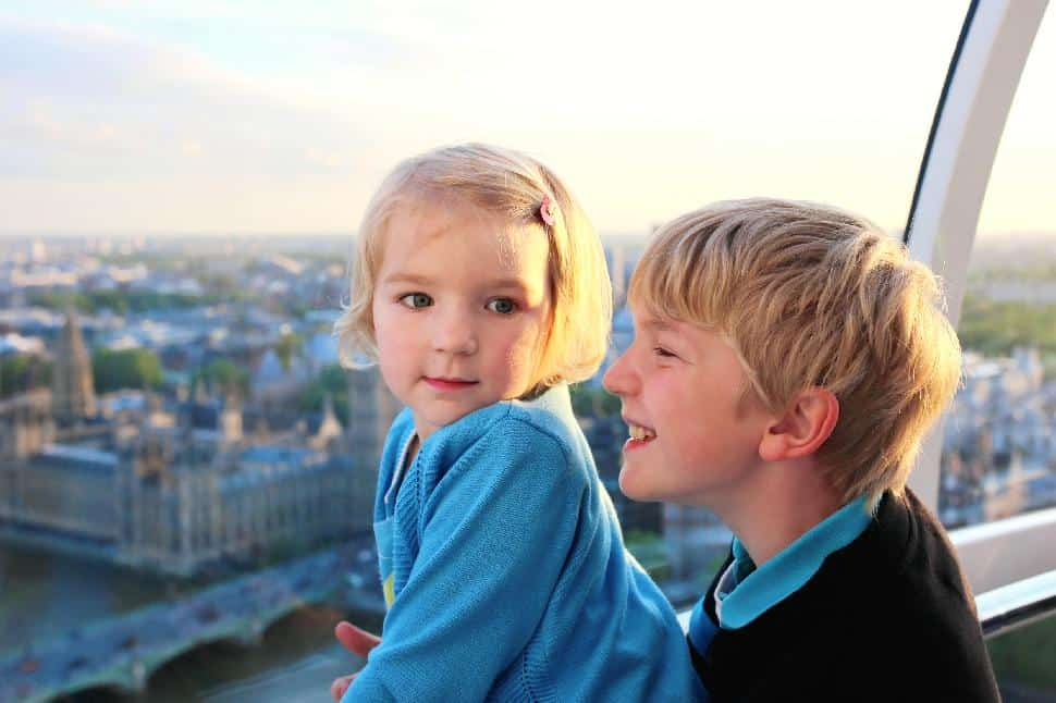 kids travel london tourists city world abroad holiday children