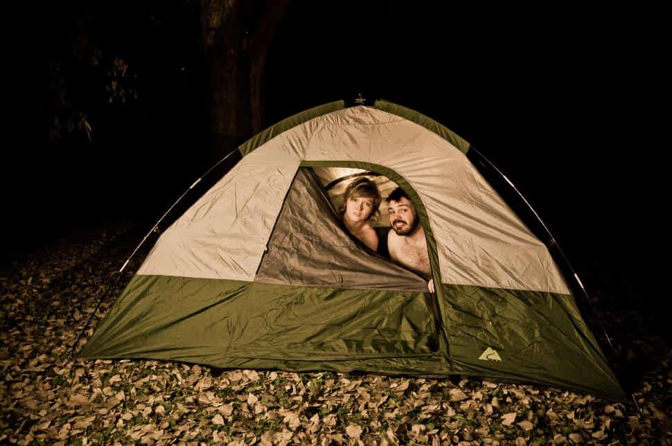 Couples Camping