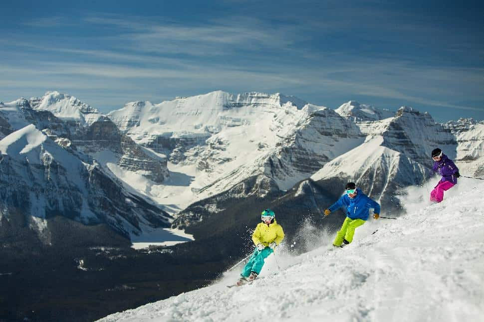 lake louise ski snowboard