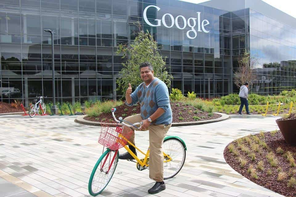 Ricky Shetty at Google