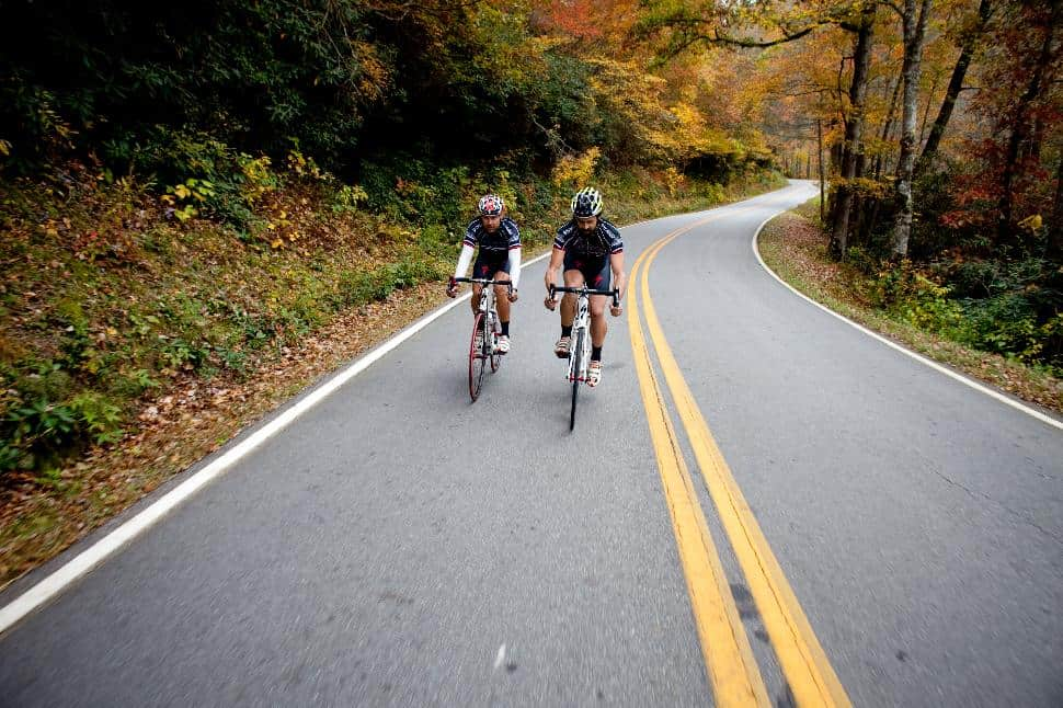 Road Cycling Brevard, NC