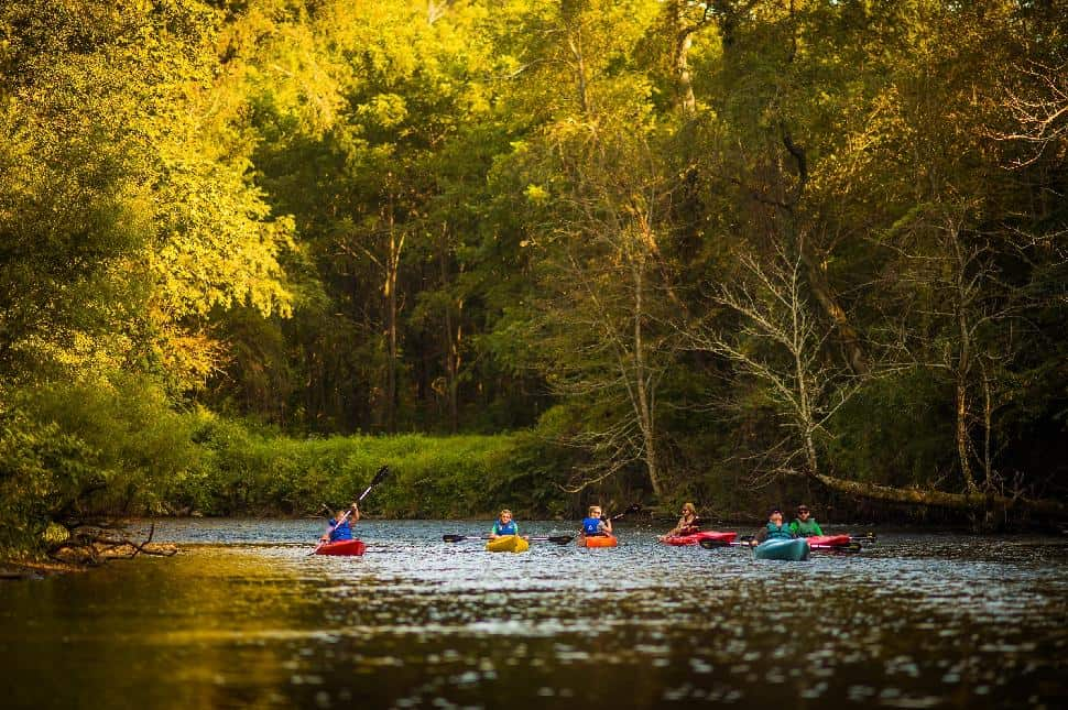 paddling the french broad river north carolina