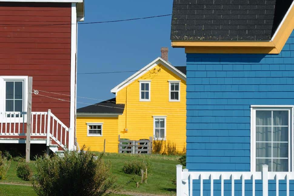 houses colourful colorful home cabin quaint cozy