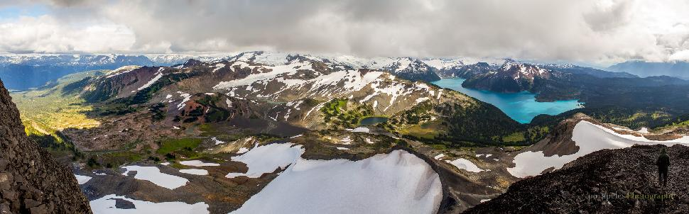 On top of Black Tusk, Garibaldi
