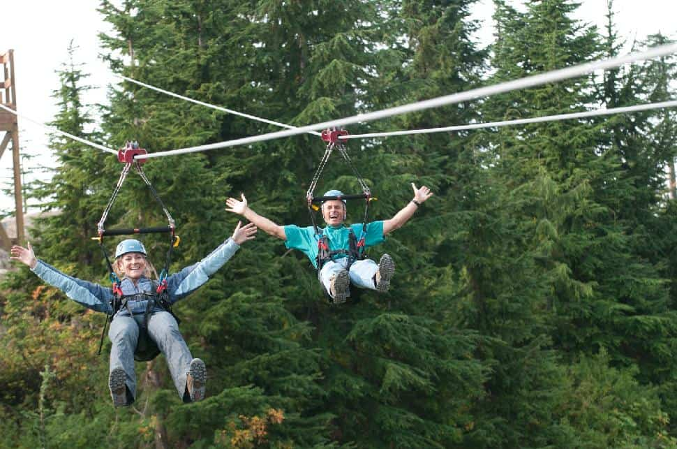 Grouse Mountain Zip Line