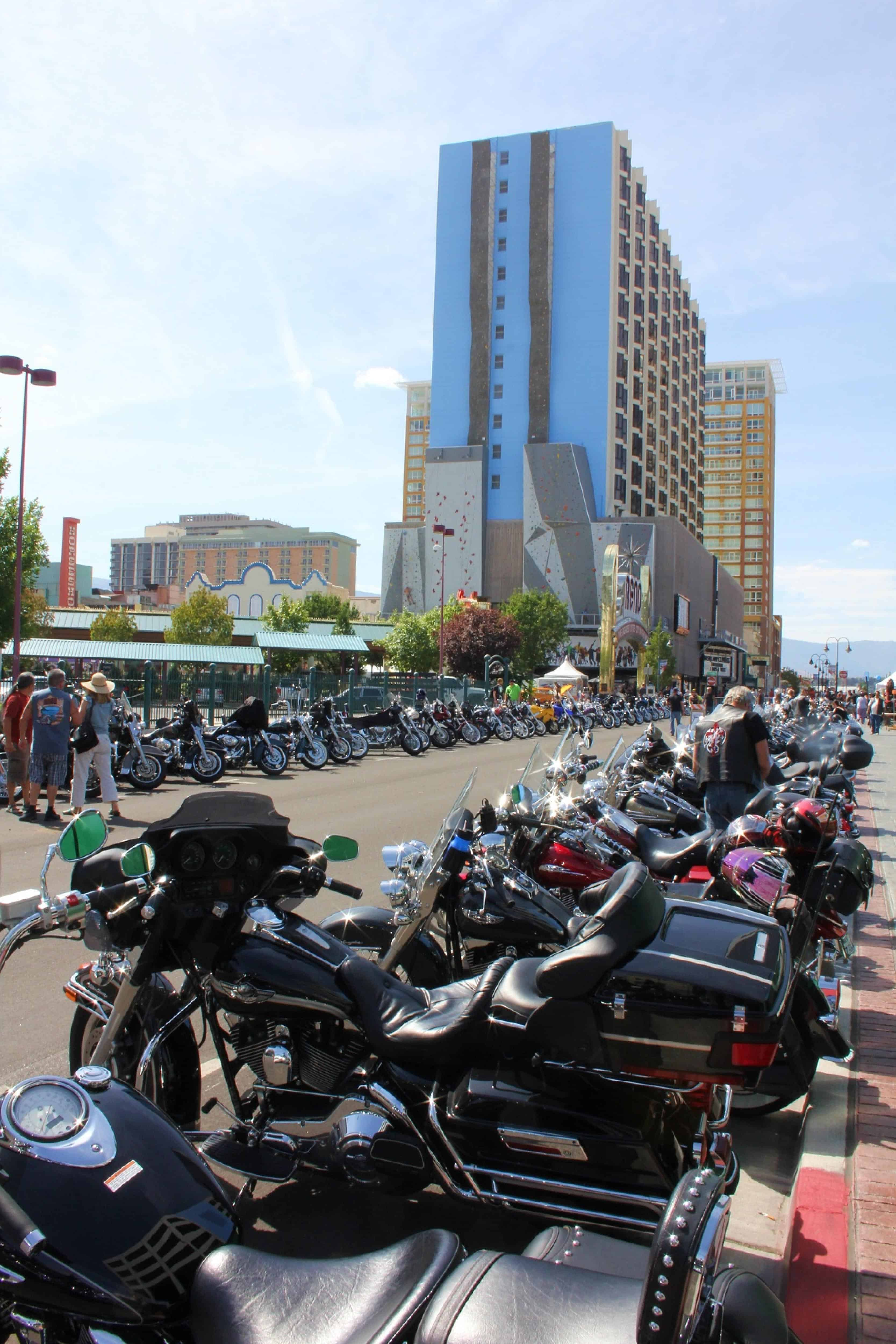 Street Vibrations Motorcycle Rally Downtown Reno