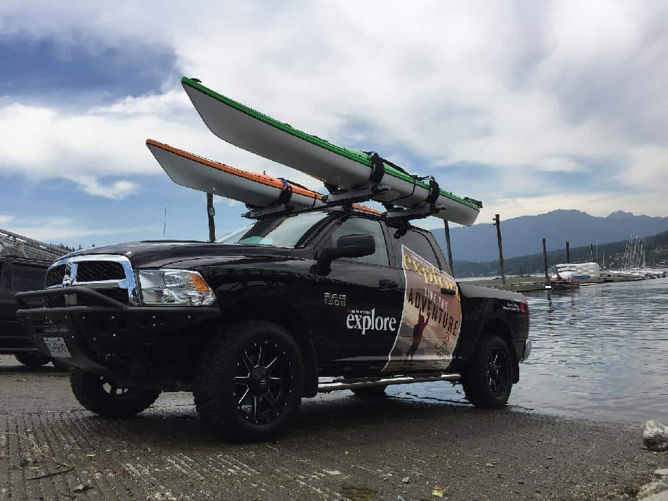 Cap-It Truck Kayak Accessories