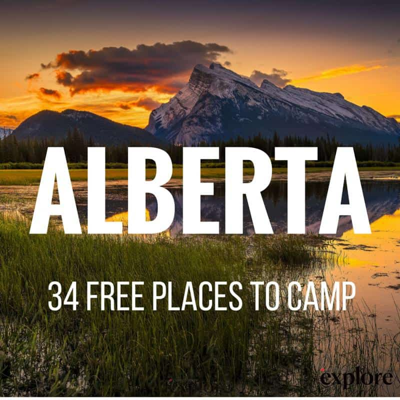 Summers in Alberta are hikes in the alpine, treks along glacierfed