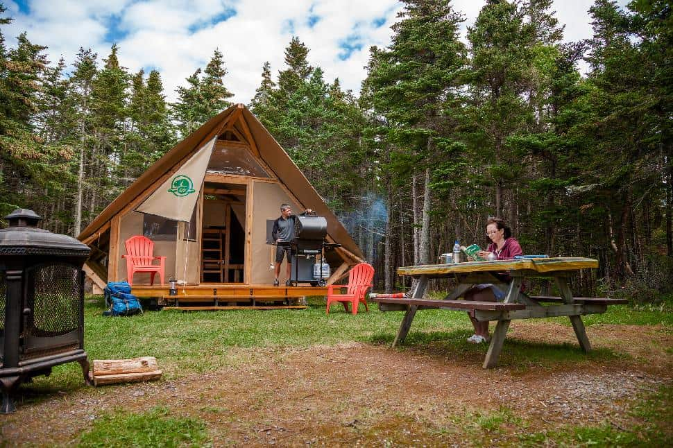 oTENTik Tent, Gros Morne National Park, Western