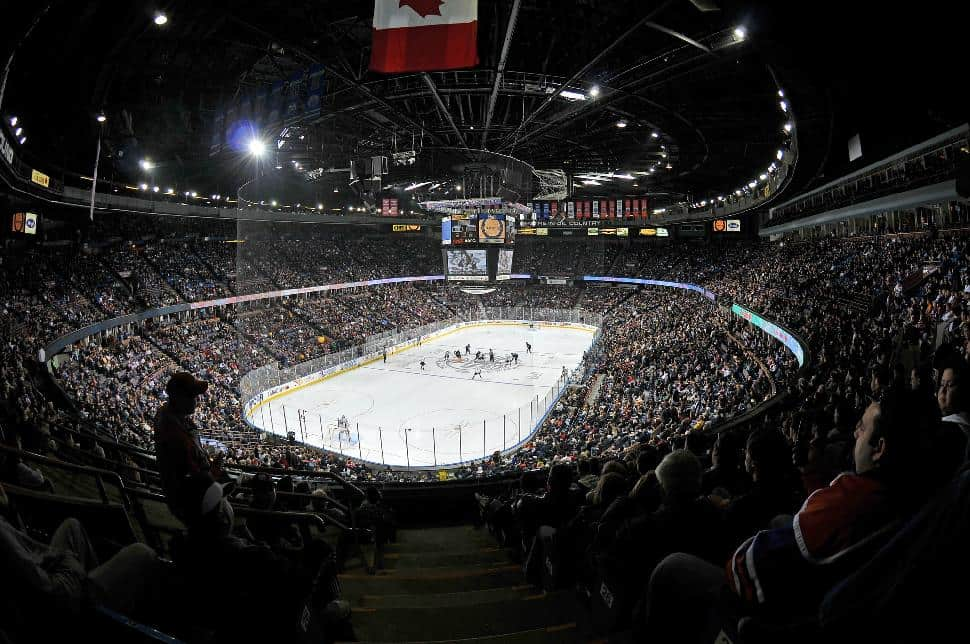 Edmonton Tourism oilers hockey