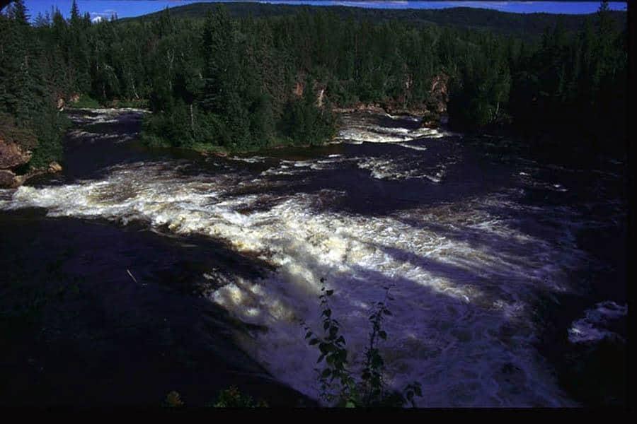 Whitened Falls