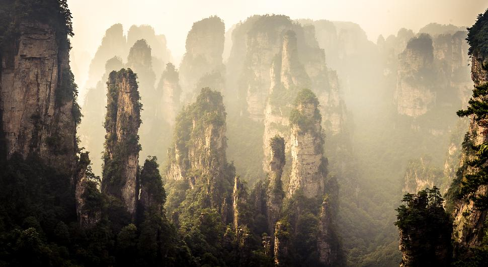 Zhangjiajie National Forest Is Avatar S Real Life