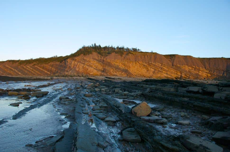 Joggins Fossil Cliffs UNESCO World Heritage Site, Bay of Fundy & Annapolis Valley
