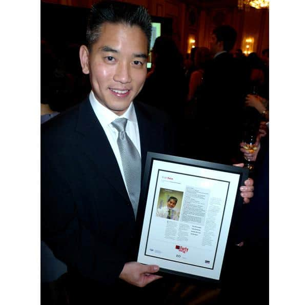 Surgeon and spinal-cord-injury genius Brian Kwon of VGH took the night off from saving lives to accept an award.