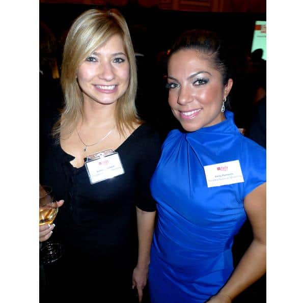 Thinkbox Marketing's Ashlee Hatterback & Emily Psimoulis.