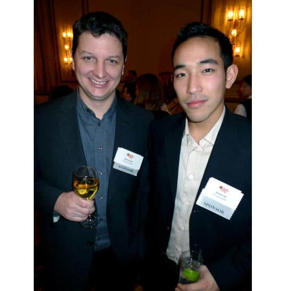 John Lyotier and Patrick Lok of CityMax and EO Vancouver were sponsors of the BIV event.