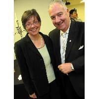 President and CEO of BC Assessment, Connie Fair, catches up with Peter Legge, chairman and CEO of Canada Wide Media.