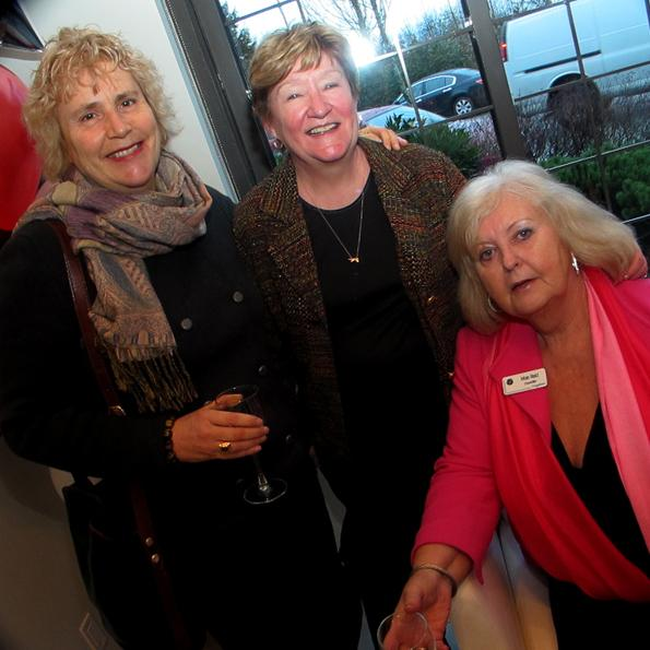 From left: Rhean Piprell, Director of the Coquitlam Public Library; Colleen Talbot, Chair of the Coquitlam Foundation; and Coquitlam councillor Mae Reid.