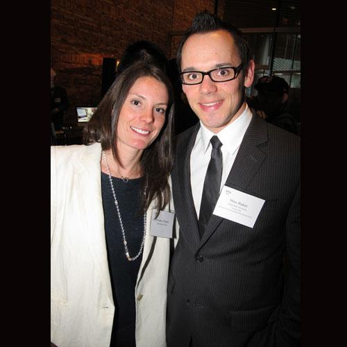Debrand Services' Amelia Ufford (l) and co-founder Wes Baker. Debrand was number 14 on the 2012 Innovators list.