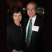 Sharon Shaver (l) with Brookside Foods president Ken Shaver. Brookside was number 6 on the 2012 Top Innovators list.