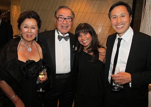 The Lee Family, from left: Lily, Robert, Carlota and Derek. Robert is the founder and chairman of The Prospero Group.