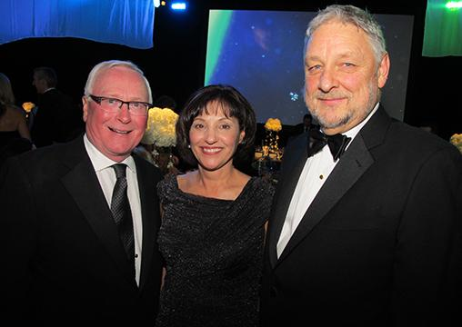 From left: David Podmore, chairman and CEO of Concert Properties; Teri Nicholas, president and CEO ofBC Children's Hospital Foundation, with husband Lee.