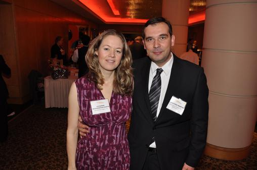 Best Company nominees for Wedderspoon Organic Inc., Catherine and Sebastien Martin.