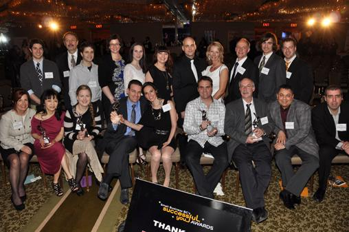 Award winners, nominees and guests of the 10th annual Successful You event.