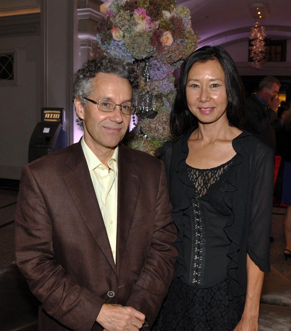 Alan Franey, VIFF festival director; and Helen Yagi, VIFF Dragons & Tigers publicist.