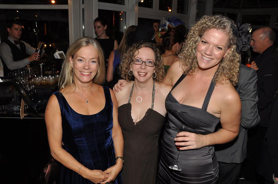 Colleen Hardwick, PlaceSpeak founder and CEO; Tracey Mack, Urban Safari Entertainment producer; and Siobhan McCarthy, Red Trike Media founder and CEO.