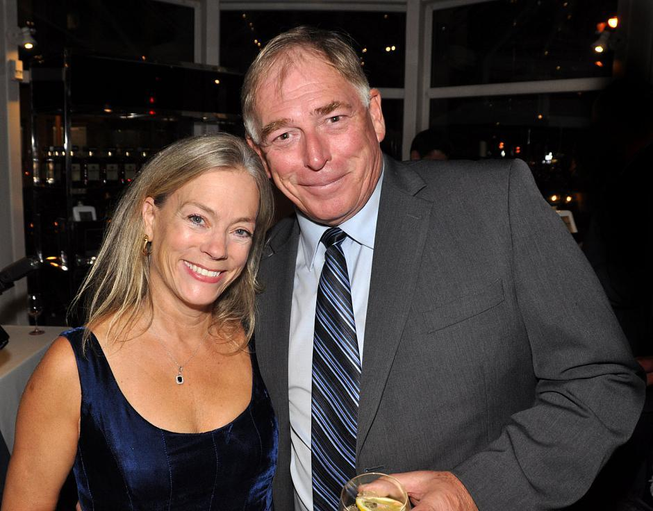 Colleen Hardwick, PlaceSpeak founder and CEO; and Gary Chalk, actor from <em>Leap 4 Your Life</em>.
