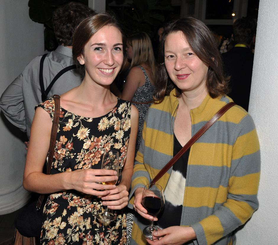 Sophie Jarvis, VIFF guest coordinator; and Ann Marie Fleming, <em>Big Trees</em> writer/director.