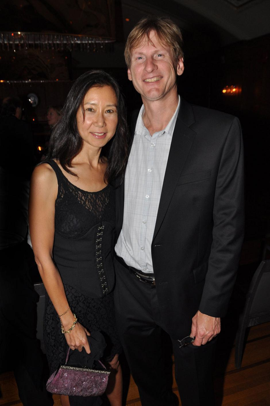 Helen Yagi, VIFF Dragons & Tigers publicist; and Gordon Rischanek, Intune Property Development CEO.